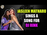 Jasleen Matharu sings a song for DJ Rink at the IWMBuzz Party