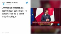 Macron rencontre au Japon des pères d'enfants franco-japonais enlevés par leurs mères