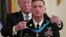 Watch President Trump present Medal of Honor to Iraq War veteran