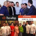Duterte won't choose next House speaker   Evening wRap