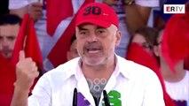 RTV Ora - Rama çudit nga Durrësi: Në 30 qershor ne fitojmë zgjedhjet, por e Luli do shpallë fitoren