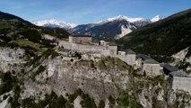 Vue d'ici : Les forts de l'Esseillon