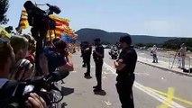 Arribada dels presos polítics als Lledoners