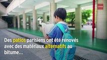 Canicule : des écoliers découvrent les joies des cours sans bitume