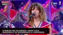 N'oubliez pas les paroles : Nagui tacle Madonna après sa performance à l'Eurovision (vidéo)