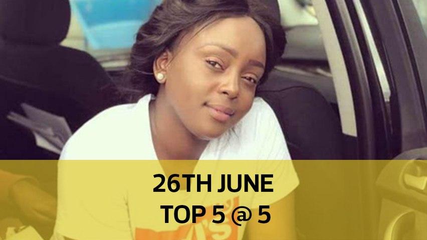 26th June Top 5 @ 5