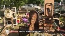 Orages dans le Calvados : un maire constate les dégâts dans sa commune