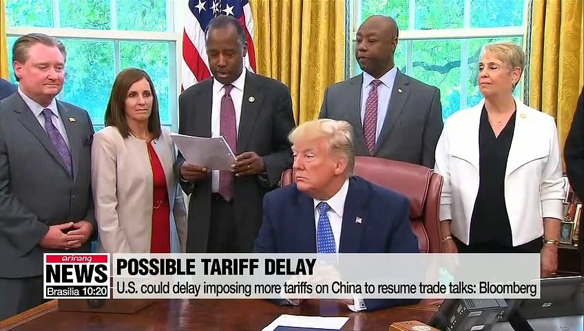 U.S. could delay imposing additional tariffs on China: Bloomberg