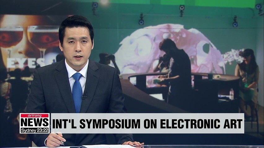 International Symposium On Electronic Art being held in Gwangju this week