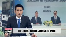 Hyundai Motor Co. signs MOU with Saudi Aramco to cooperate in hydrogen sector