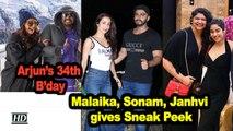 Arjun Kapoor's 34th B'day| Malaika, Sonam, Janhvi gives Sneak Peek