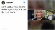 Cinéma : La comédienne Edith Scob est morte à 81 ans