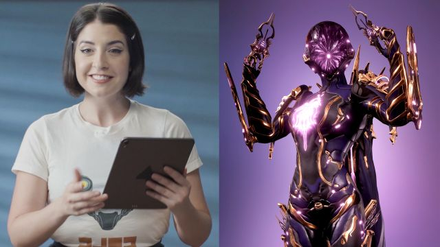Warframe's Rebecca Ford reviews your characters