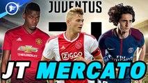 Journal du Mercato : la Juventus met le feu au marché des transferts