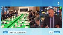 Japon : première rencontre au sommet entre Emmanuel Macron et Shinzo Abe