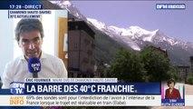 """Canicule: le maire de Chamonix appelle à """"accélérer et bouger pour faire face à la crise climatique qui s'annonce"""""""