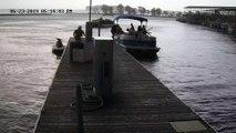 Une tornade détruit un port à quelques mètres de touristes qui débarquaient !