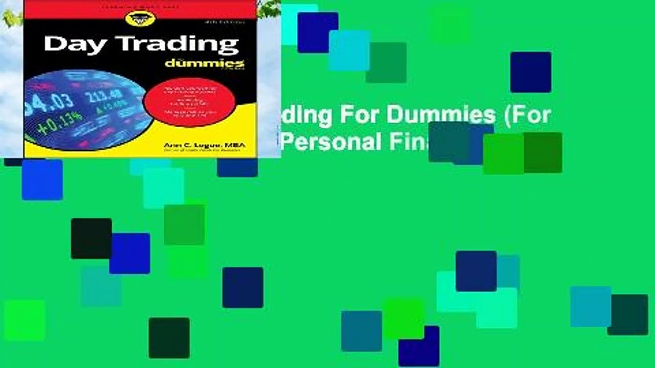 [GIFT IDEAS] Day Trading For Dummies (For Dummies (Business   Personal Finance))