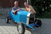 Une « Baby » Bugatti, de père en fils