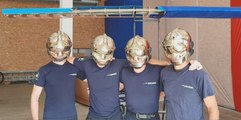 À Lyon, les pompiers de Confluence se préparent pour le Red Bull Jour d'Envol