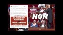 Des députés insoumis dénoncent la fermeture de la ligne Perpignan-Rungis