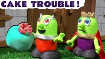 Funny Funlings Toy Cake Trouble Pranks with How to Train Your Dragon, Rascal Funling and King Funling Family Friendly Full Episode English Story for Kids