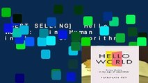 [BEST SELLING]  Hello World: Being Human in the Age of Algorithms