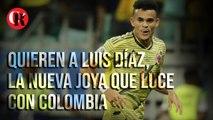 Quieren a Luis Díaz, la nueva joya que luce con Colombia