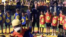 Pep Guardiola inaugurates pitch for the Cruyff Foundation