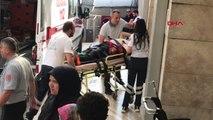 ZONGULDAK Yük asansöründe asılı kalan 1 kişi yaralandı