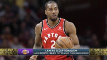 The Jim Rome Show: Lakers believe they're in the Kawhi Leonard race