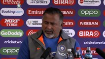 Plans in place to counter Windies batsmen - Bharat Arun | Bharat Arun on MS Dhoni's slow batting | ICC Cricket World Cup 2019
