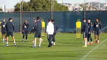 Brazil train ahead of Copa America quarter-final with Paraguay