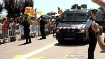 Les leaders catalans détenus transférés de prison