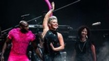Fan Gives Birth at P!nk Concert in Liverpool | Billboard News