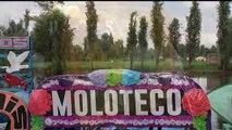 Chicuarotes. Elenco, amigos y familiares cosecharon productos para agradecer la hospitalidad de Xochimilco.