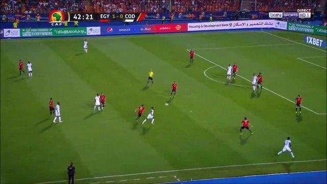 Egypt 2-0 D.R. Congo - Mohamed Salah goal
