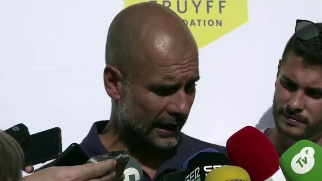 (Subtitled) 'Messi is and always will be importanbt to Barcelona' Pep Guardiola