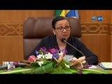 RTG/SENAT - Travaux de la séance plénière dirigés par la Présidente de l'institution en présence du ministre de l'économie