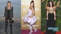 Miley Cyrus, Ariana Grande & Lana Del Rey Link Up for Upcoming 'Charlie's Angels' Reboot Song | Billboard News