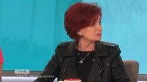 The Talk - Sharon Osbourne Defends Kylie Jenner Going Make-Up Free; 'She looks like a normal kid'