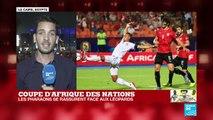 CAN-2019 : Les Pharaons ont rassuré leurs supporters face aux Léopards