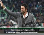 Juventus - Le possible retour de Buffon divise les fans turinois
