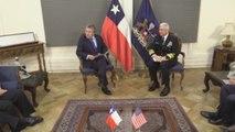"""El ministro Espina afirma que Chile """"jamás"""" le entregará su soberanía a China"""