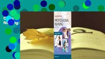 Online Leddy  Pepper's Professional Nursing  For Full