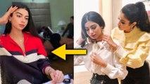 Janhvi Kapoor APPLIES Make - Up On Sister Khushi Kapoor | Khushi Kapoor Transformation