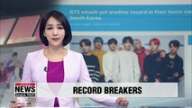 BTS sets new Guinness World Record for best-selling album in Korea