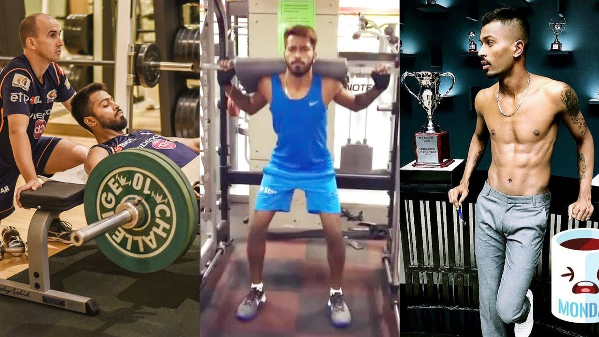 Hardik Pandya Workout For India Vs West indies World Cup 2019 Match