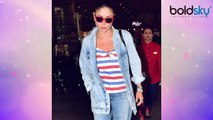 Kareena Kapoor Khan flaunts her denim look at Mumbai airport | Boldsky