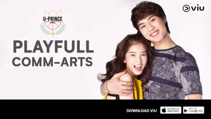 Trailer 'U-Prince Series: Playfull Comm Arts' | Serial Thailand | Starring Nawat Phumphothingam & Sananthachat Thanapatpisal